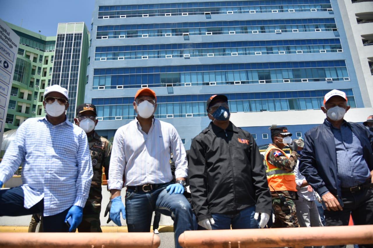 Alcaldía y Obras Públicas junto a otras instituciones públicas y privadas intervendrán Santiago en gran operativo