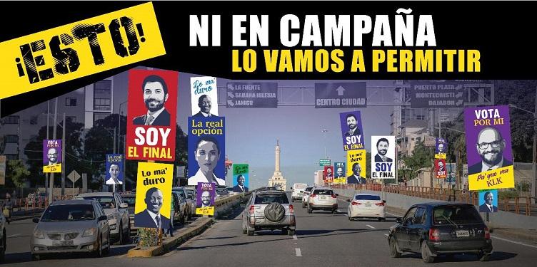 Alcaldía Santiago recuerda a partidos políticos respetar regulaciones para colocar propaganda
