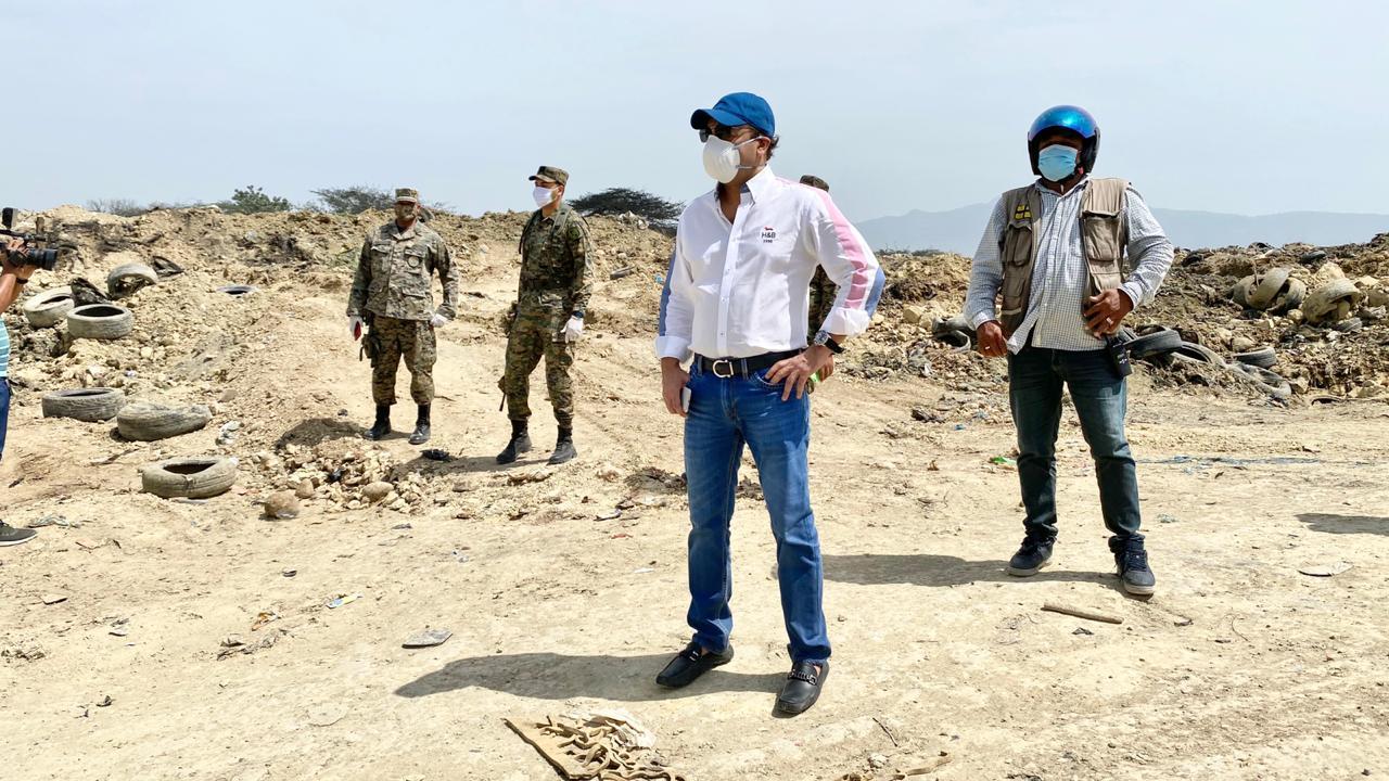 Fuego provocado por enemigos de Santiago en Vertedero Rafey fue totalmente sofocado
