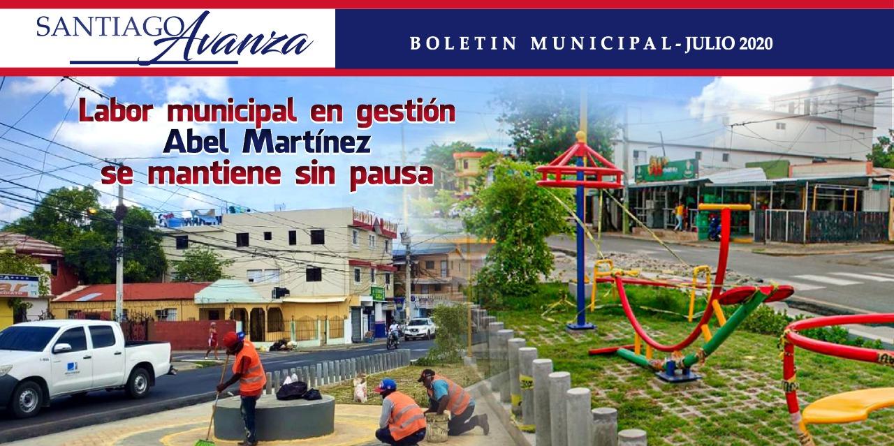 Boletín Municipal Ayuntamiento Santiago Julio 2020