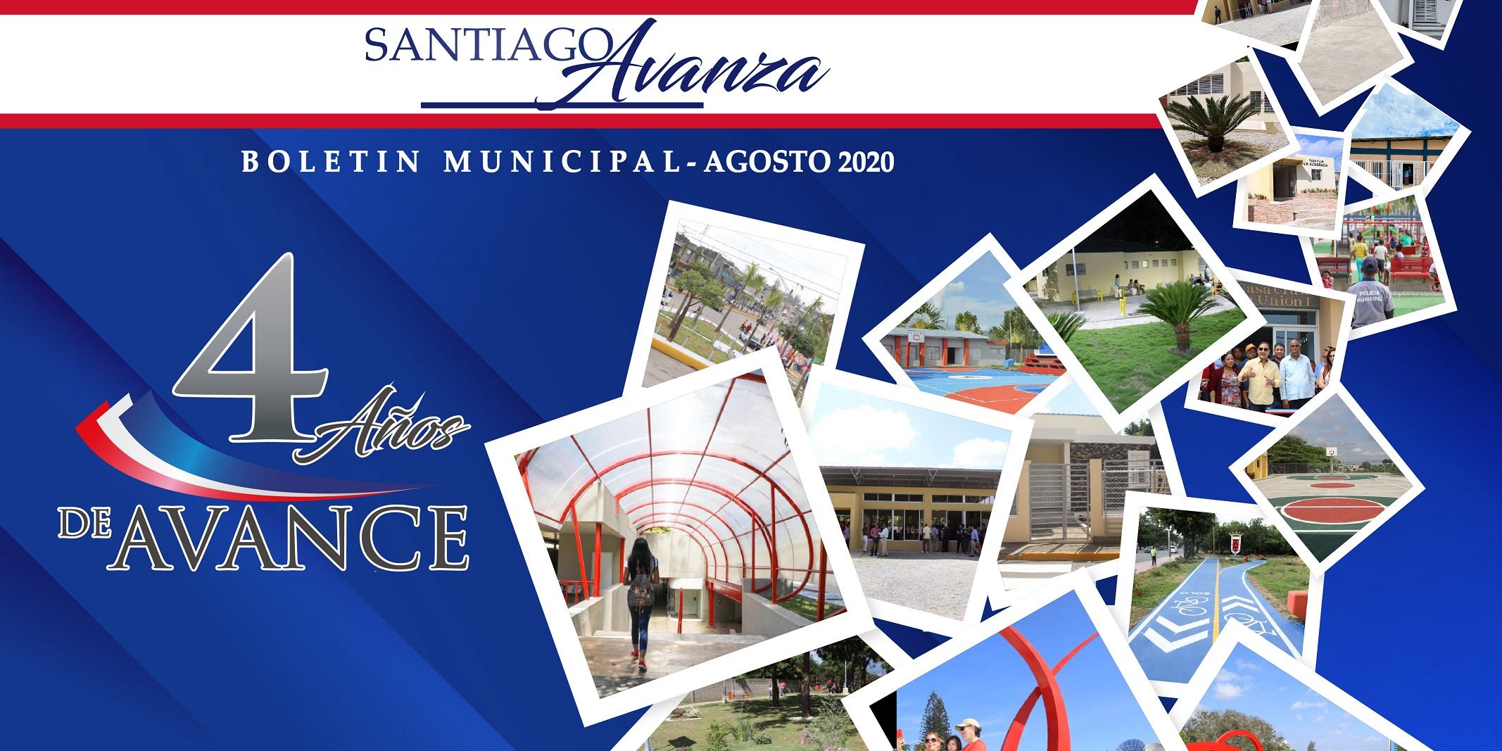 Boletín Municipal Ayuntamiento Santiago Agosto 2020