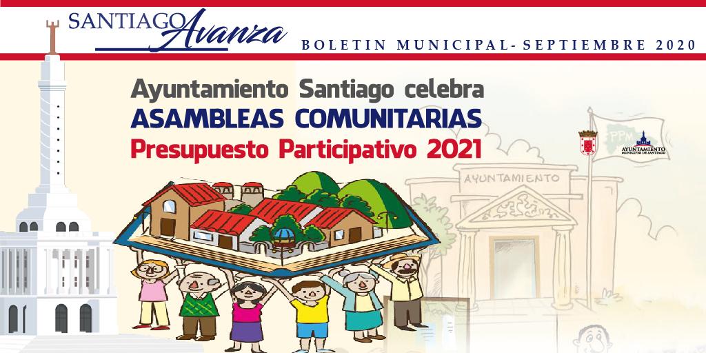 Boletín Municipal Ayuntamiento Santiago Septiembre 2020