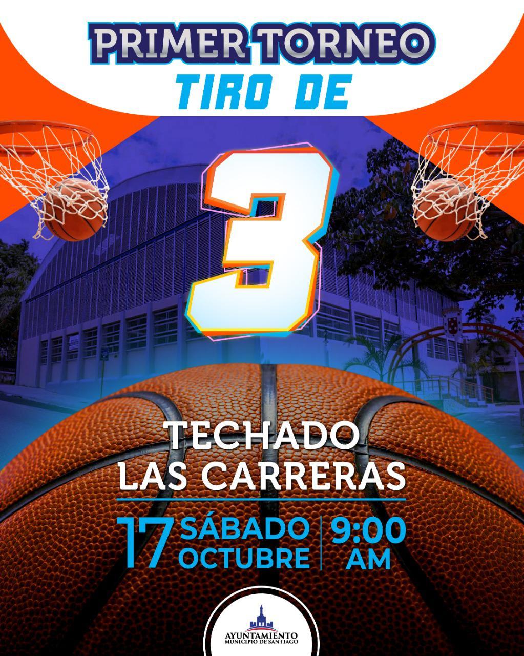 Alcaldía Santiago realizará desde este sábado la primera competencia de tiros de tres