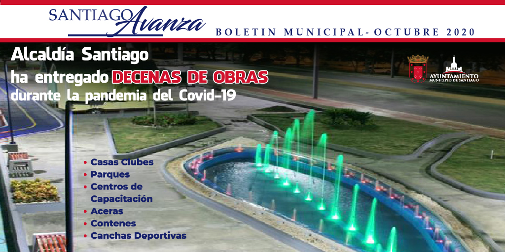 Boletín Municipal Ayuntamiento Santiago Octubre 2020