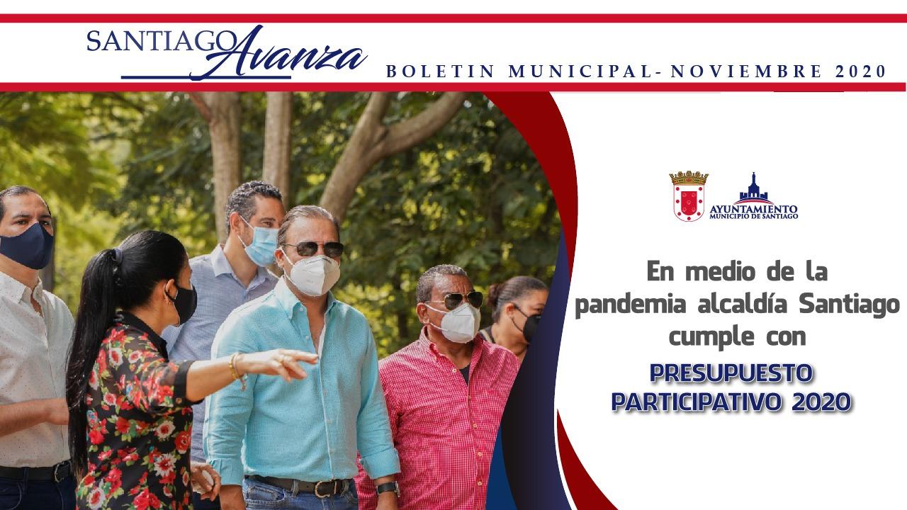 Boletín Municipal Ayuntamiento Santiago Noviembre 2020