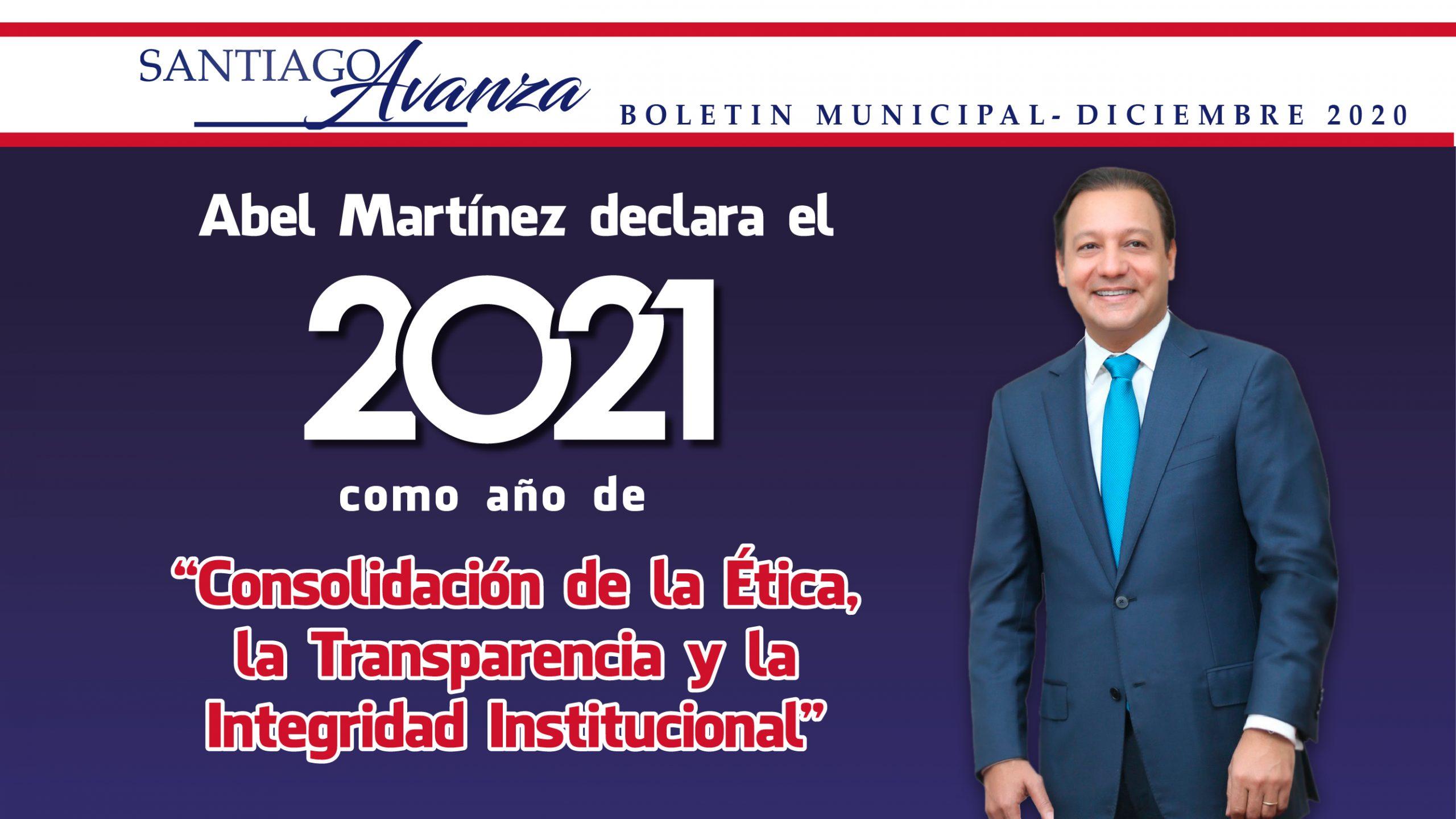 Boletín Municipal Ayuntamiento Santiago Diciembre 2020