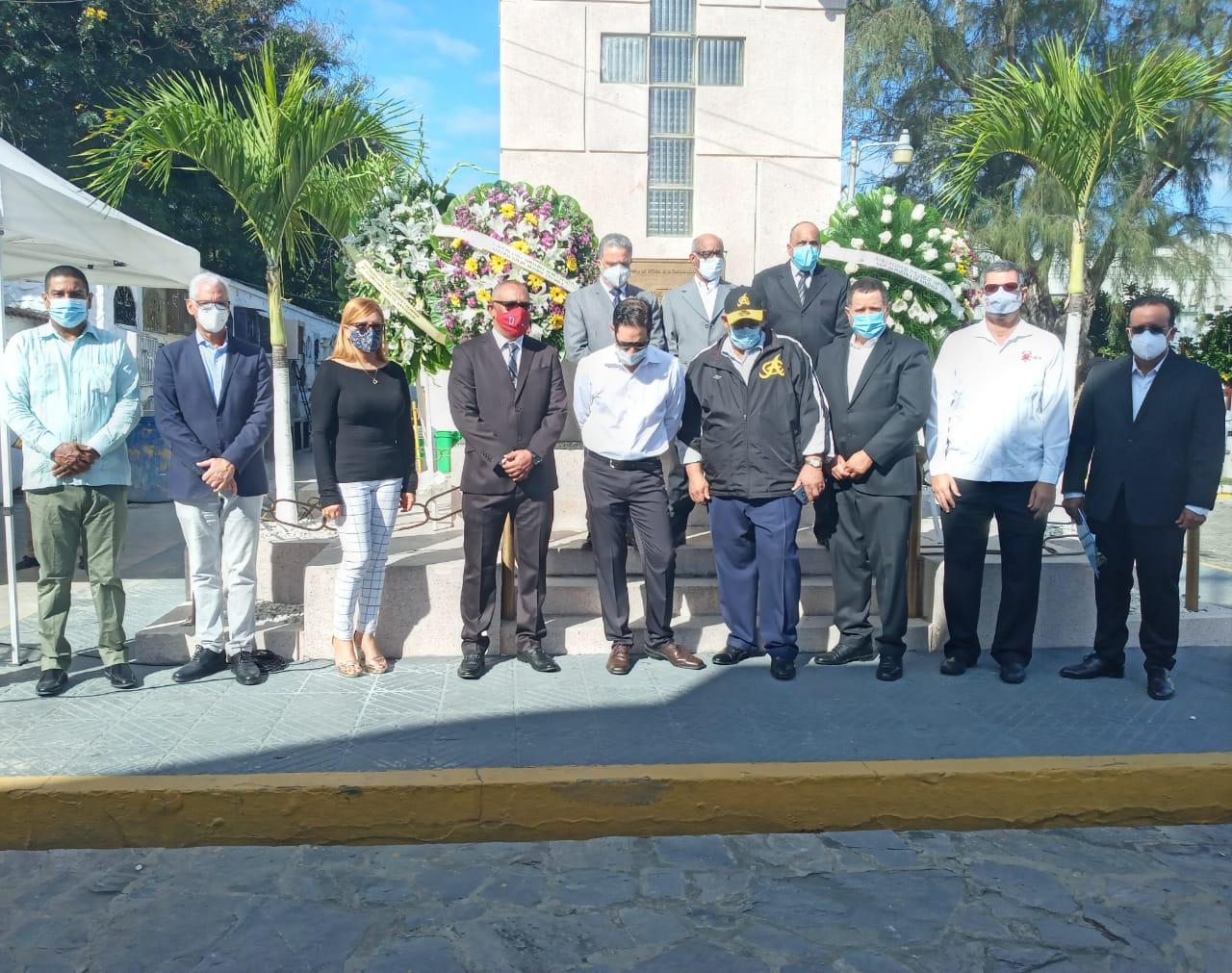 Alcaldía de Santiago participa acto de recordación a deportistas caídos en tragedia Río Verde