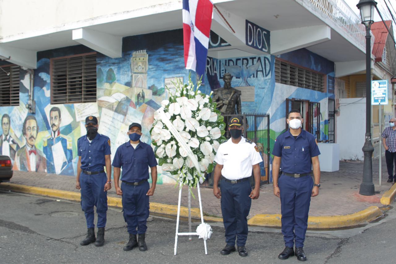 Alcaldía Santiago recuerda el nacimiento del patricio Ramón Matías Mella