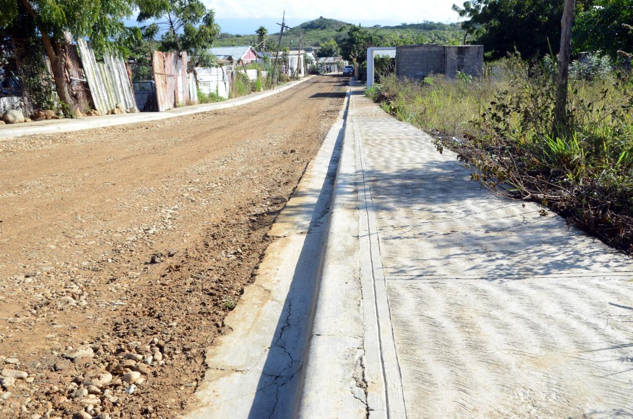 Alcaldía Santiago entrega nuevas obras en la comunidad Las Mercedes, La Barranquita