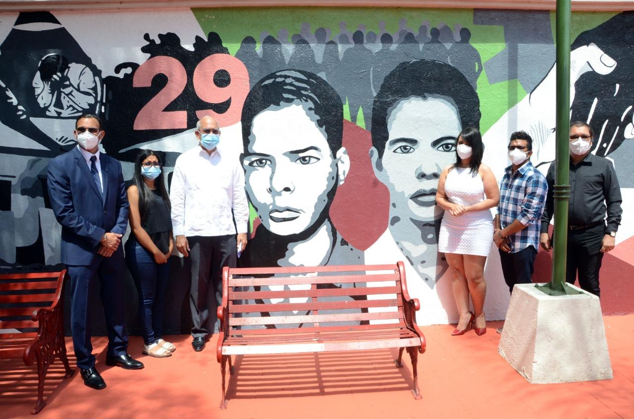 Alcaldía rinde homenaje a Los Panfleteros de Santiago; grupo de adolescentes asesinados en la tiranía