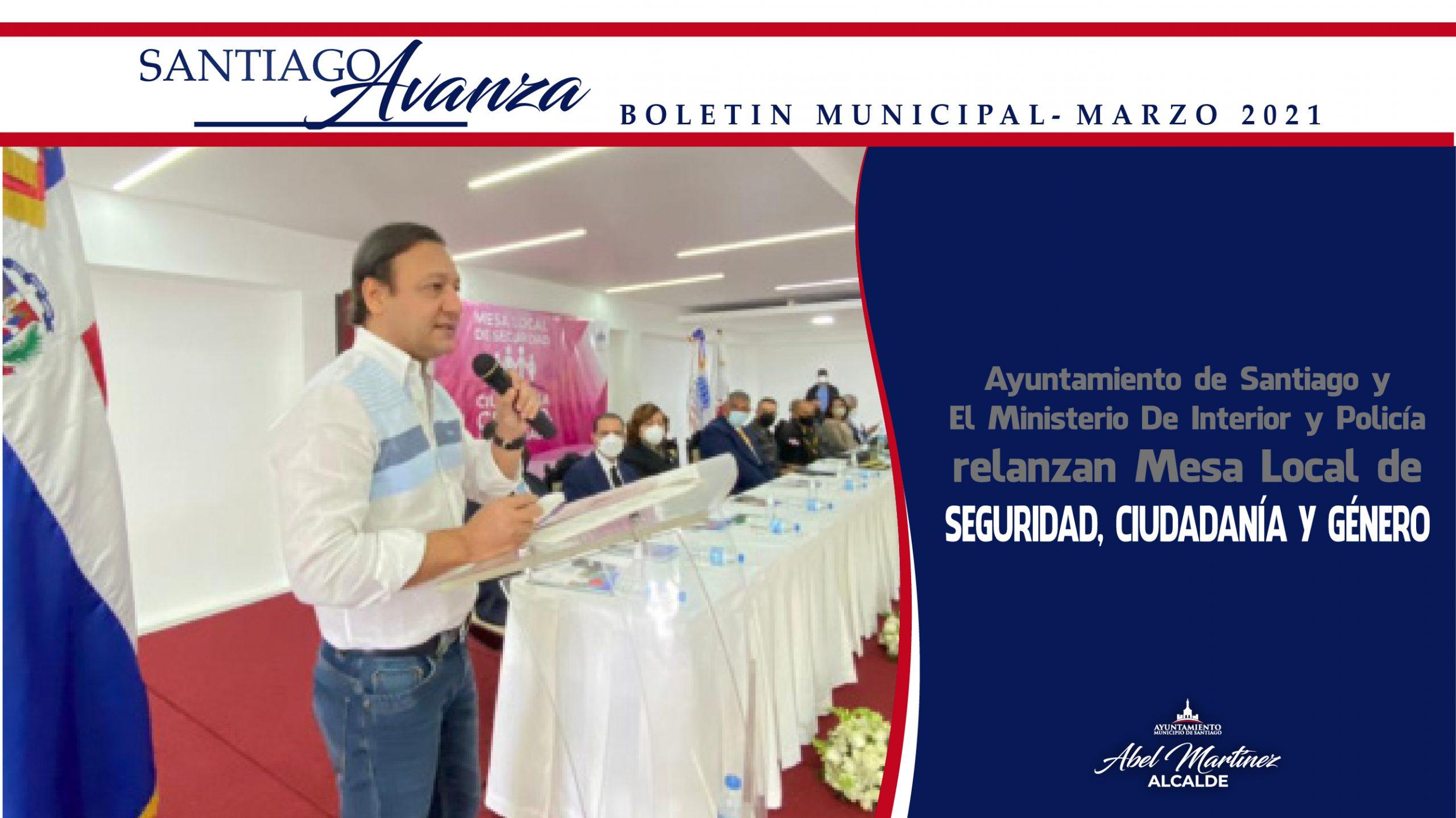 Boletín Municipal Ayuntamiento Santiago Marzo 2021