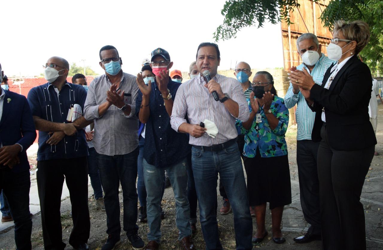 Lee más sobre el artículo Alcalde Abel Martínez asegura ha cumplido con las obras del Presupuesto Participativo