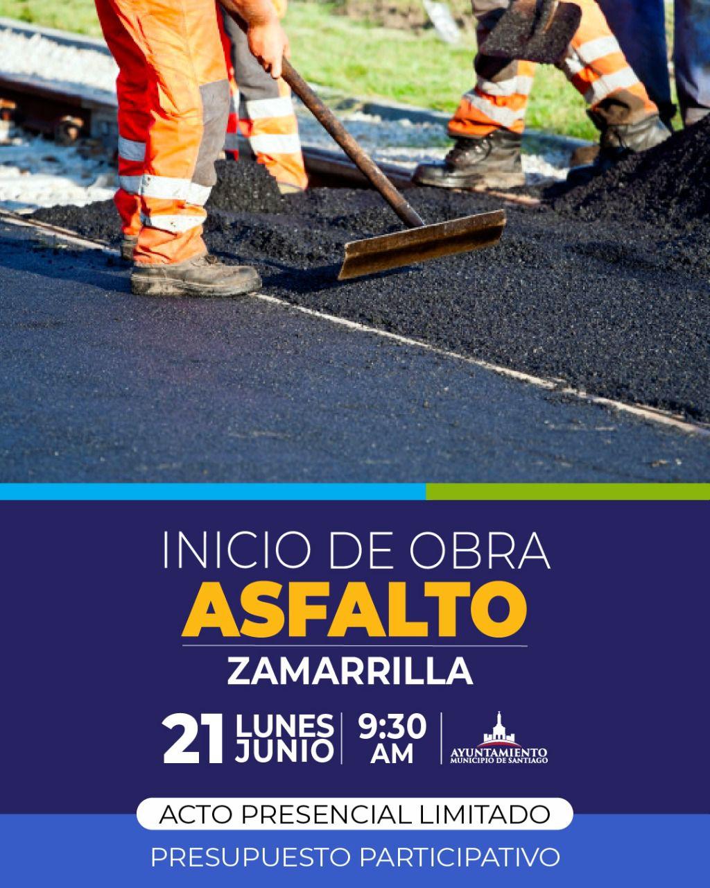 En este momento estás viendo Alcaldía Santiago intervendrá tres comunidades con plan de asfaltado entre lunes y martes