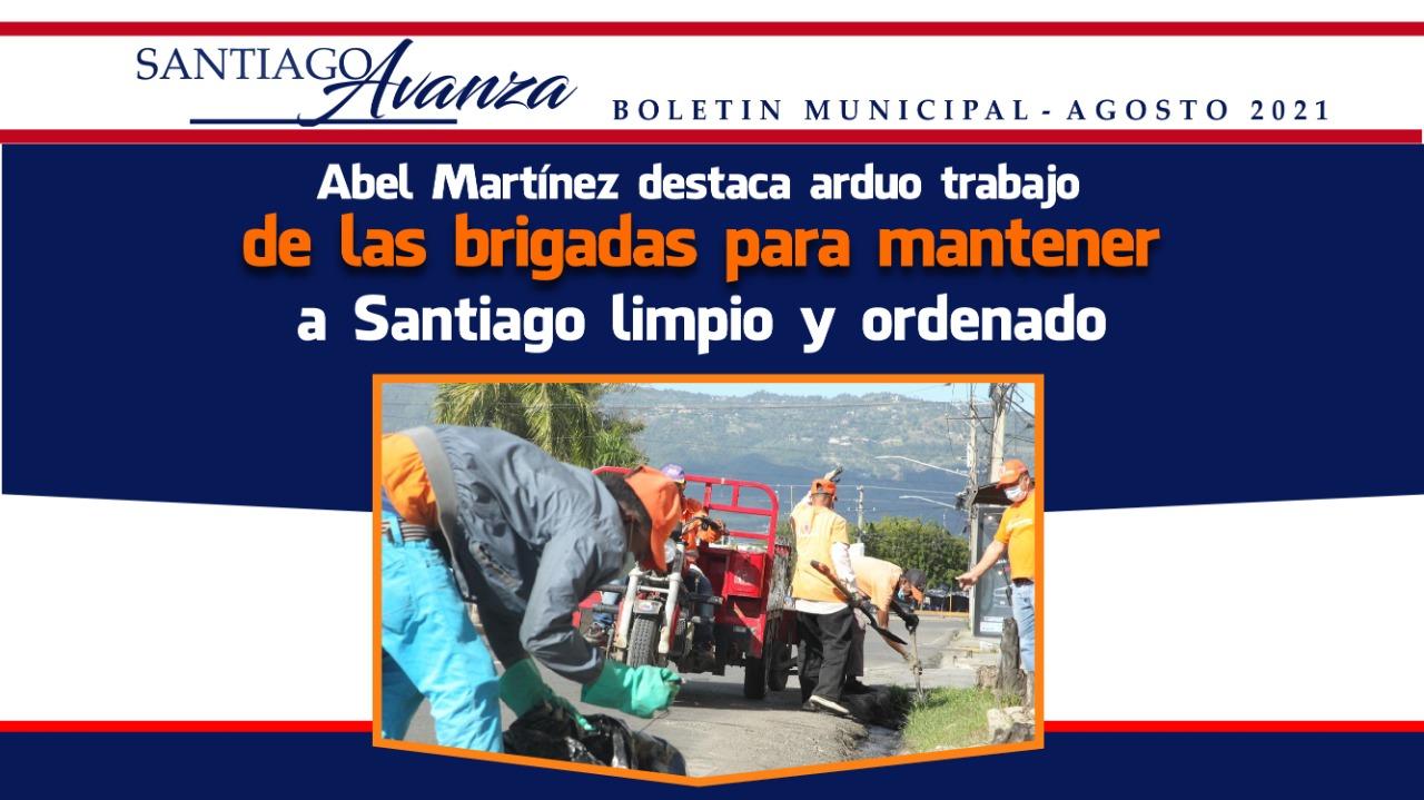 Lee más sobre el artículo Boletín Municipal Ayuntamiento Santiago Agosto 2021